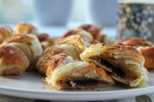 Mini Chocolate Cinnamon Croissants   How to be Awesome on $20 a Day