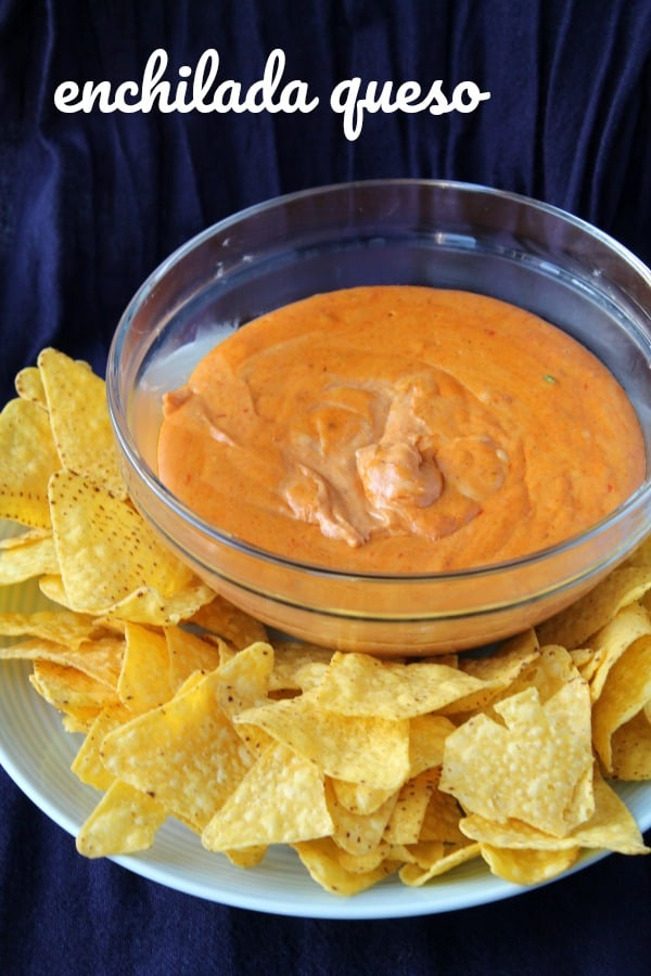 Enchilada Queso   How to be Awesome on $20 a Day