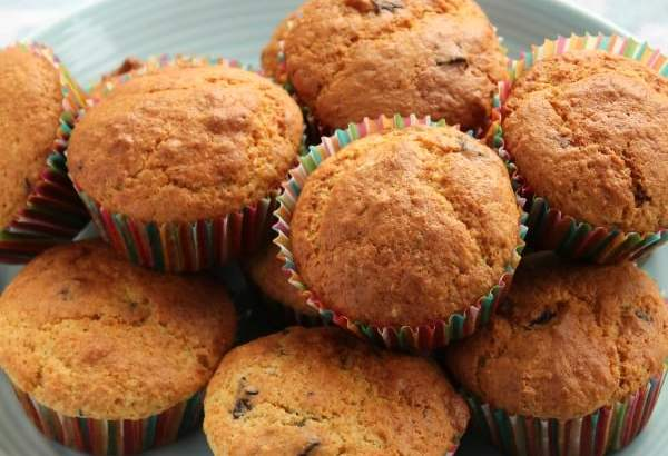 Orange Chocolate Chunk Muffins   How to be Awesome on $20 a Day