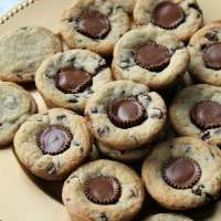 Chocolate Chip Peanut Butter Blossoms