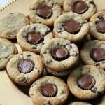 Chocolate Chip Peanut Butter Blossoms   How to be Awesome on $20 a Day