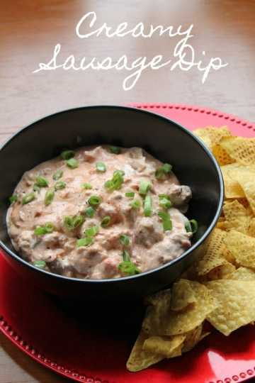 Creamy Sausage Dip | How to be Awesome on $20 a Day