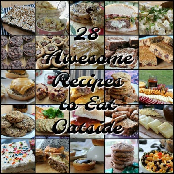28 Awesome Recipes to Eat Outside