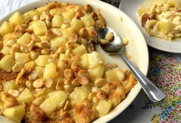 Hawaiian Bread Pudding | How to be Awesome on $20 a Day