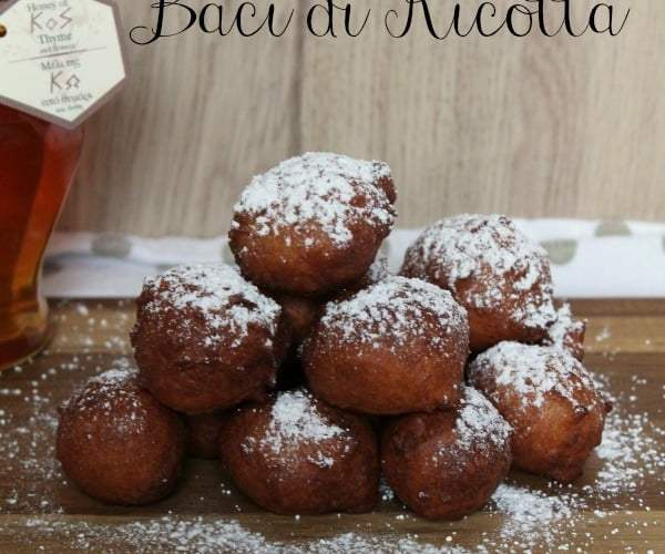 Baci di Ricotta | How to be Awesome on $20 a Day