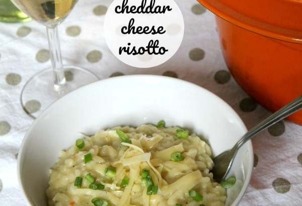 Cheddar Cheese Risotto | How to be Awesome on $20 a Day