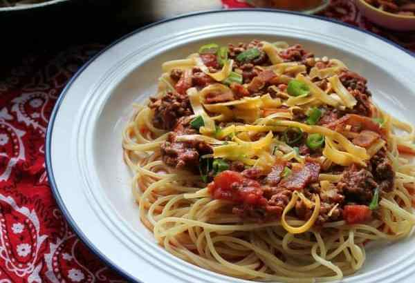 Cowboy Spaghetti | How to be Awesome on $20 a Day