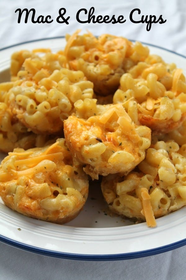 Mac & Cheese Cups | How to be Awesome on $20 a Day