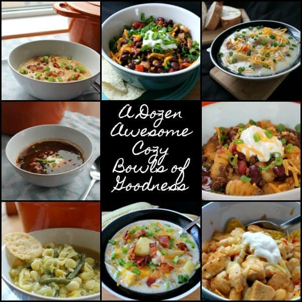 A Dozen Awesome Cozy Bowls of Goodness