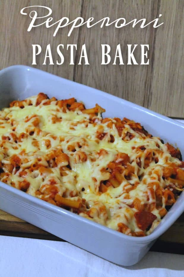 Pepperoni Pasta Bake   How to be Awesome on $20 a Day