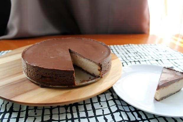 Chocolate Peanut Butter Cheesecake | How to be Awesome on $20 a Day