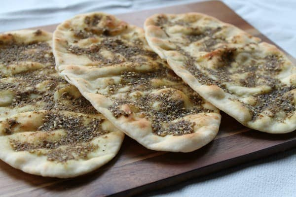 Za'atar Flatbread | How to be Awesome on $20 a Day