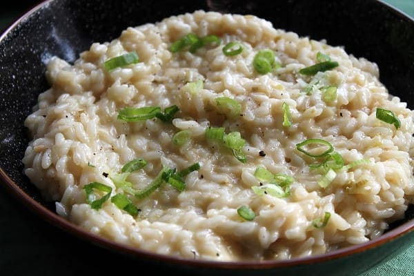White Risotto   How to be Awesome on $20 a Day