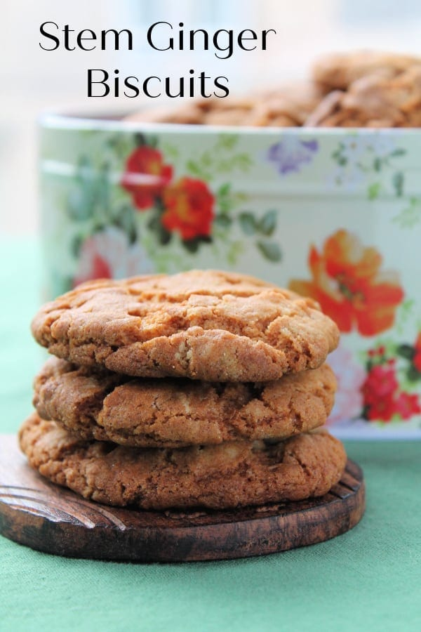 Stem Ginger Biscuits | How to Be Awesome on $20 a Day