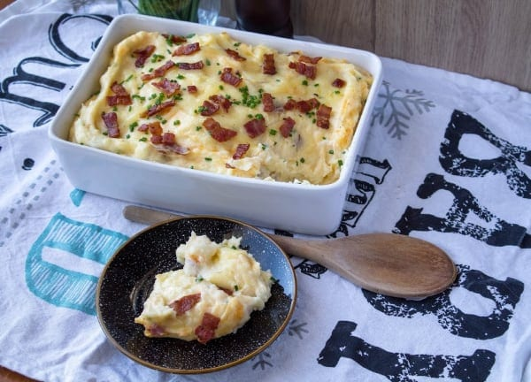 Loaded Baked Potato Casserole | How to Be Awesome on $20 a Day
