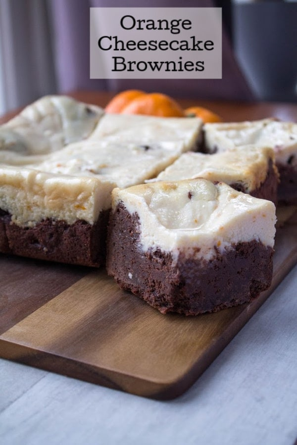 Orange Cheesecake Brownies | How to Be Awesome on $20 a Day