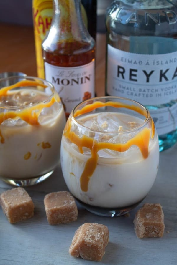 Salted Caramel White Russian | How to Be Awesome on $20 a Day
