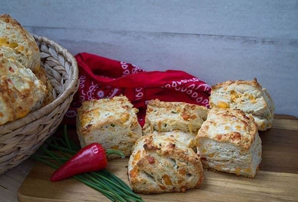 Cheddar Jalepeno Biscuits