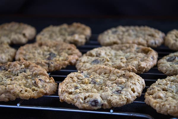 Oatmeal Chocolate Chip Cookies | How to Be Awesome on $20 a Day