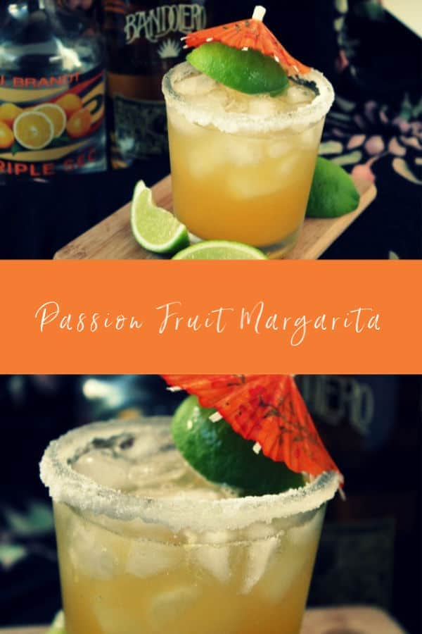 Passion Fruit Margarita | How to Be Awesome on $20 a Day