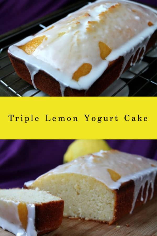 Triple Lemon Yogurt Cake | How to Be Awesome on $20 a Day