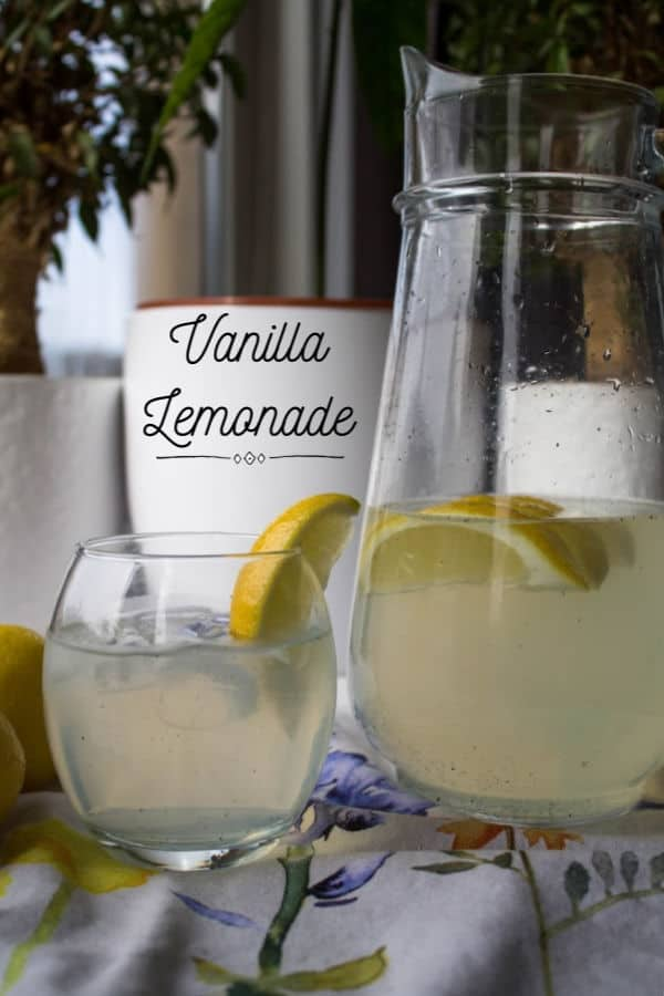 Vanilla Lemonade | How to Be Awesome on $20 a Day