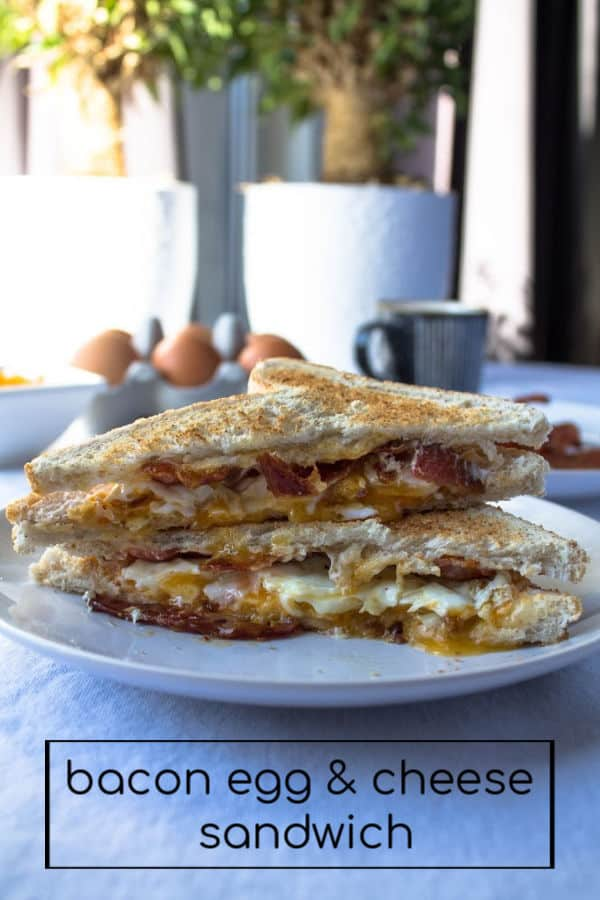 Bacon Egg & Cheese Sandwich | How to Be Awesome on $20 a Day
