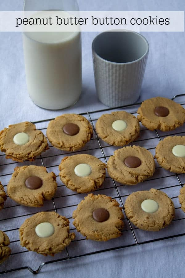 Peanut Butter Button Cookies | How to Be Awesome on $20 a Day