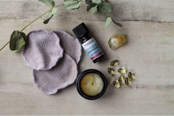Homemade Eye Makeup Remover from above