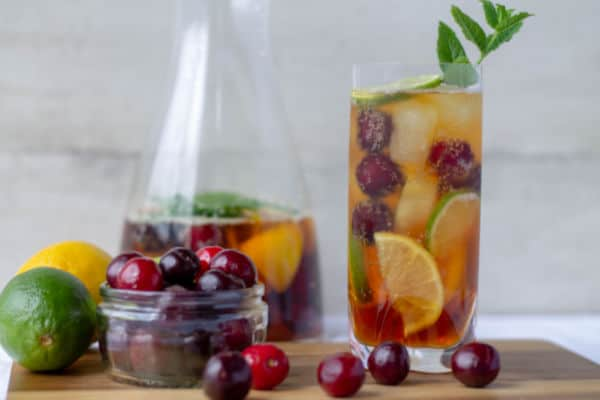 Pimm's & Cherry Lemonade