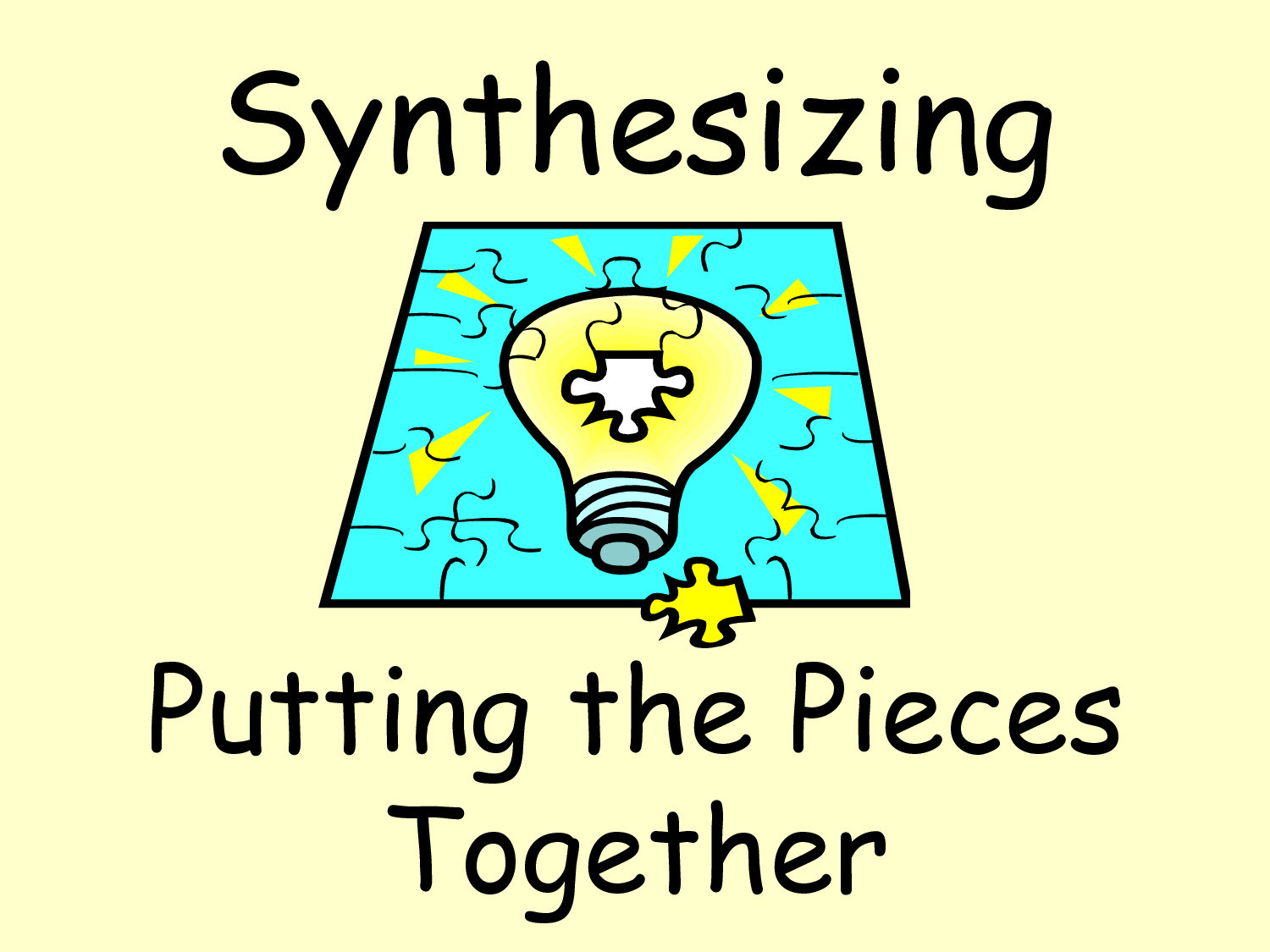 What Is Synthesizing? Difference Between Summerizing And Synthesizing