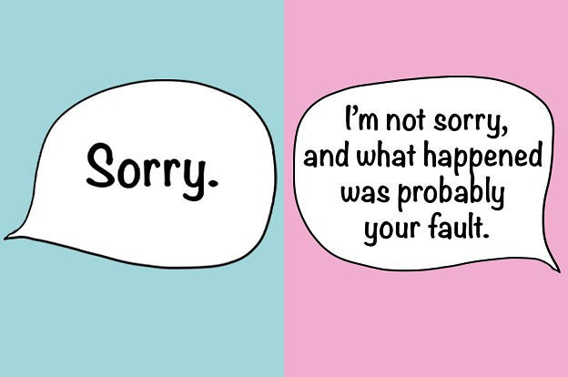 What I Say VS What I Actually Mean