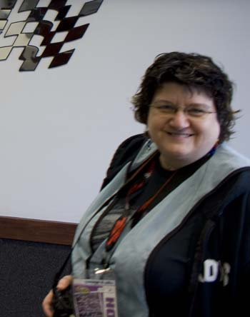 deborah at martinsville 2010