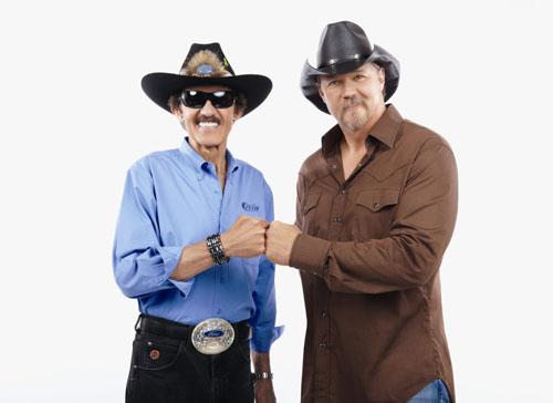 Richard Petty and Trace Adkins photo