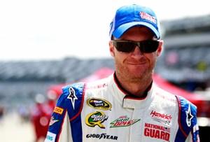 Dale Earmhardt jr at Daytona