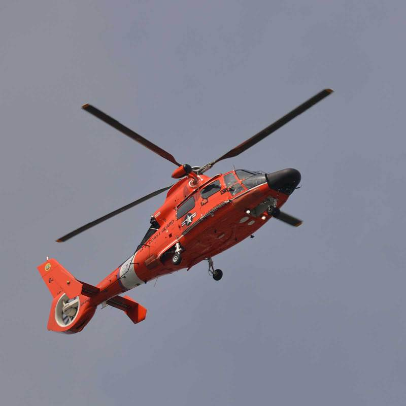 U S  Coast Guard Helicopter MH-65 Dolphin