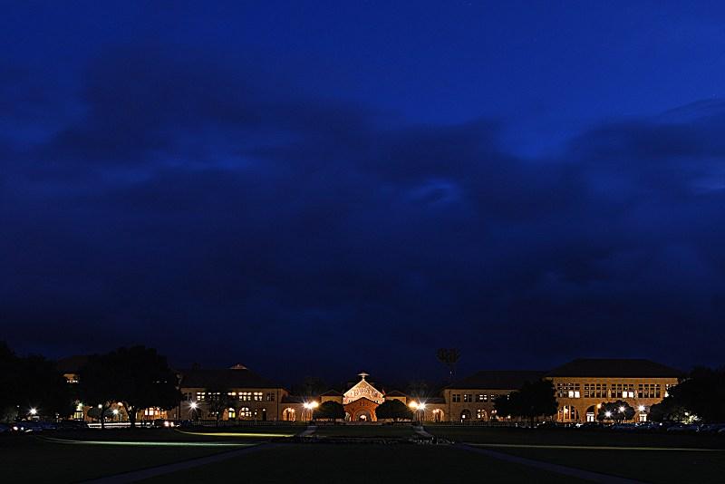 Stanford University at Dusk
