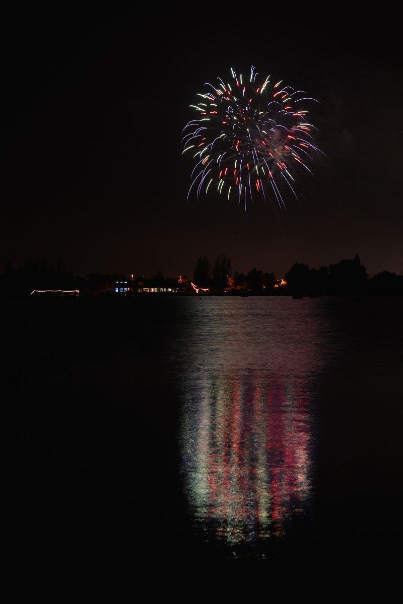 Shoreline Lake Fireworks
