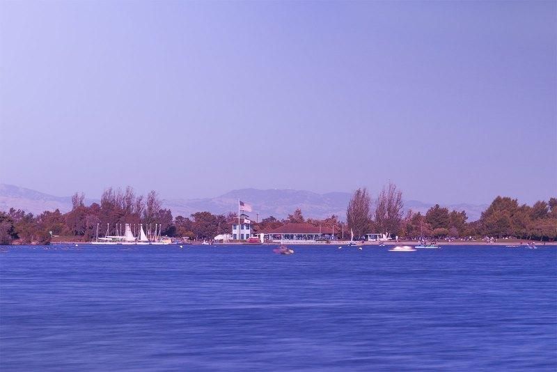 Shoreline Lake, Mountain View, CA