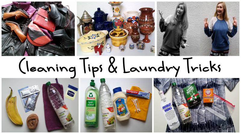 Cleaning Tips & Laundry Tricks