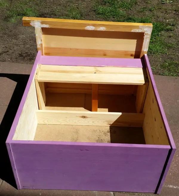 dresser to sandbox diy (5)