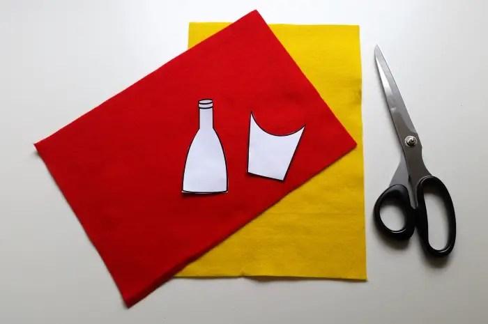 diy french fry & ketchup blouse (1)