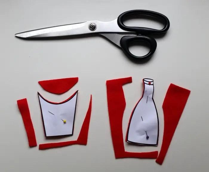 diy french fry & ketchup blouse (2)
