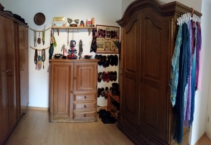 upcycled diy vintage bedroom tour