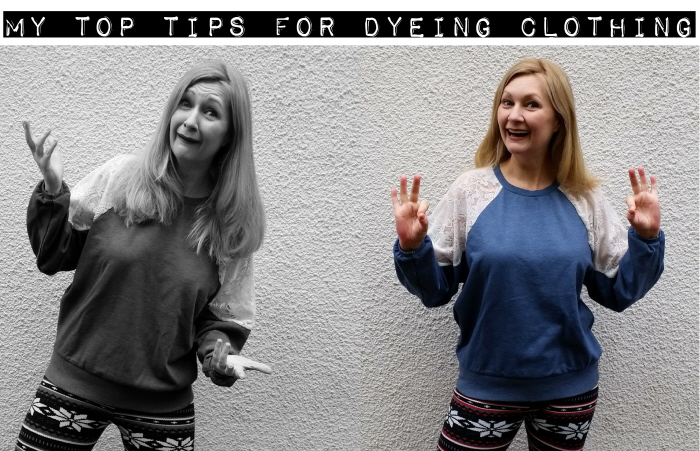 my top tips for dyeing clothing
