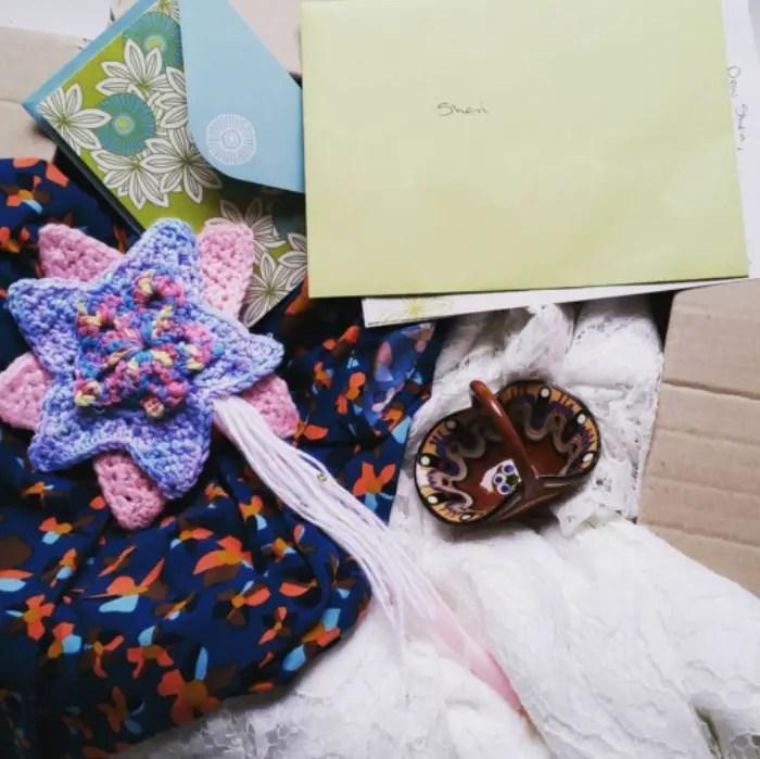 lace dress refashion surprise package
