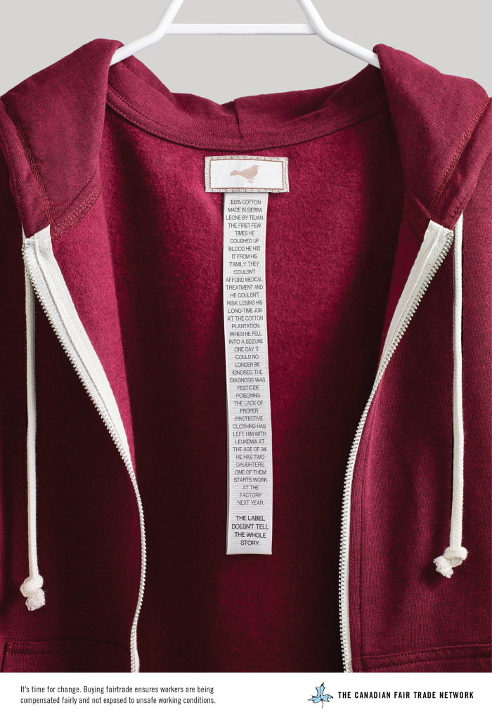 If Unethical Clothing Tags Were Honest