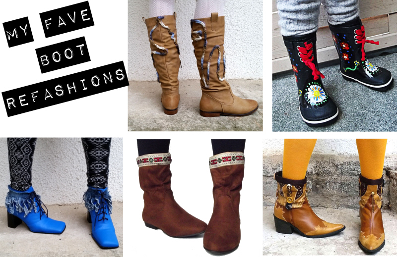 My Fave Boot Refashions