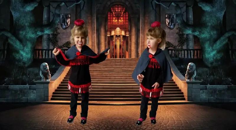 The Refashioned Baby Vampire Costume