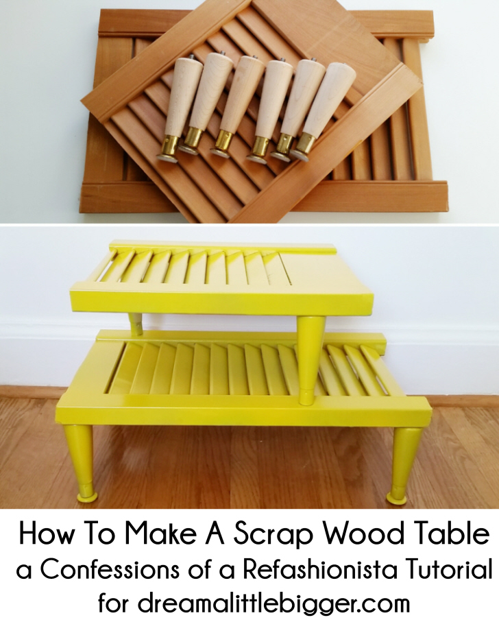 How To Make a Scrap Wood Table